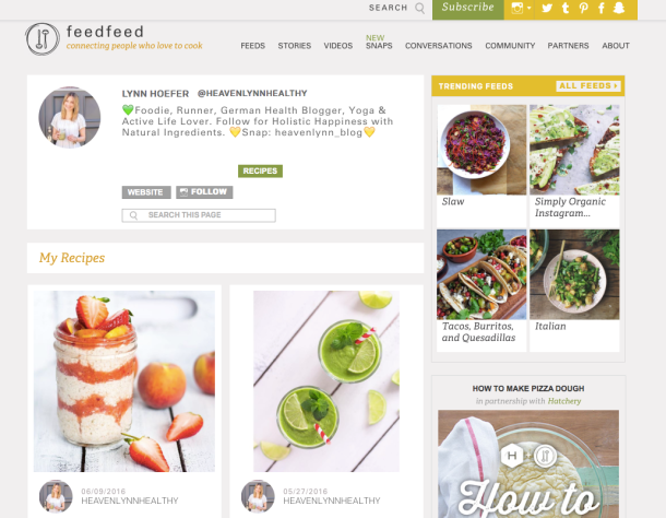 Heavenlynn Healthy Presse - FeedFeed