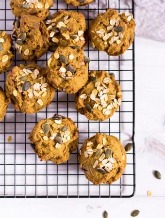 Gesunde Kürbis-Muffins