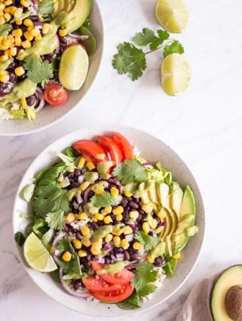 Schneller mexikanischer Sommersalat