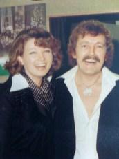 Andre Mos met Ellie de Nijs (vrouw van Jack Jersey)
