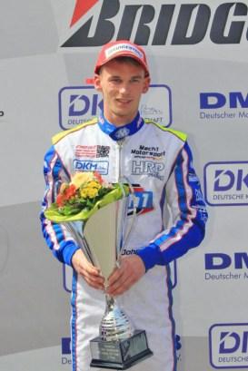 John Norris bei der DKM in Ampfing mit Mach1 Motorsport