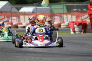 Toni Greif mit Mach1 Kart bei der Kart-Europameisterschaft