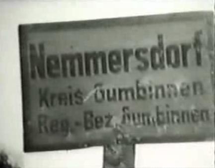 Datei:Nemmersdorf Ortsschild.JPG