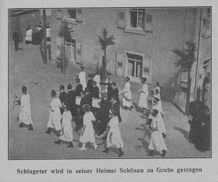 Datei:Schlageter Beerdigung in Schönau.jpg
