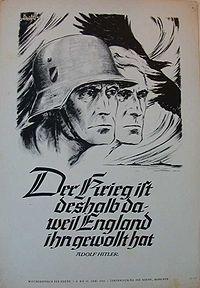 Der Krieg ist deshalb da, weil England ihn gewollt hat.jpg