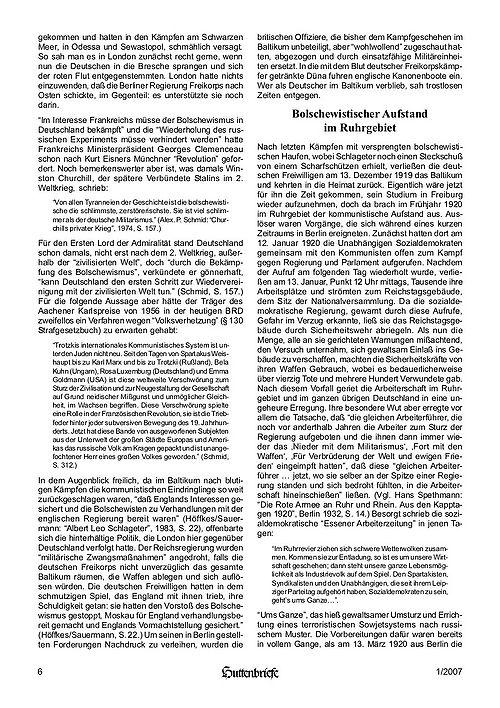 Albert Leo Schlageter – ein deutscher Freiheitskämpfer, Huttenbriefe Sonderdruck Februar 2007 - 06.jpg