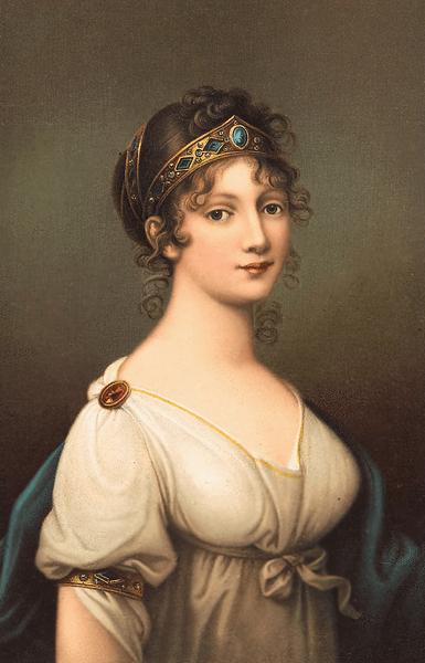 Datei:Königin Luise von Preußen, Ölgemälde von Josef Maria Grassi aus dem Jahr 1802.png