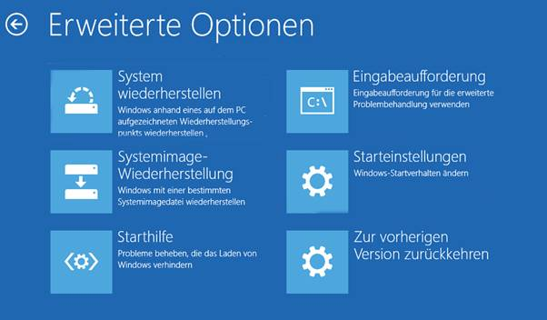 Erweiterte Option