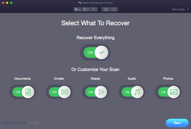 Stellar Data Recovery für Mac