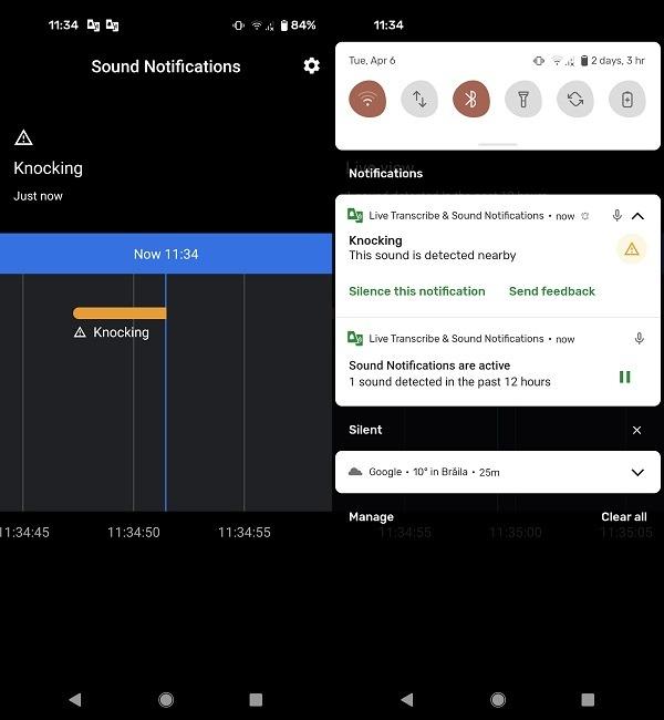 So stellen Sie einen Notfallalarm ein Android-Klopfen erkannte Benachrichtigungen