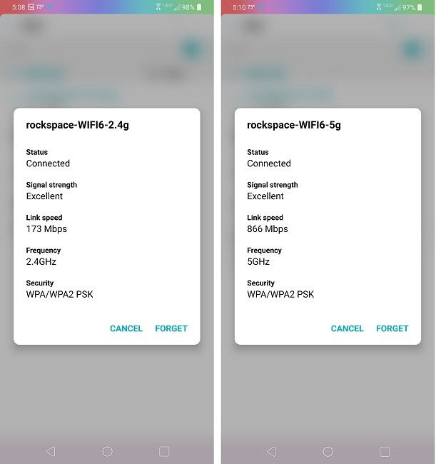 Rock Space Ax1800 Wi-Fi 6 Router Bewertung nach