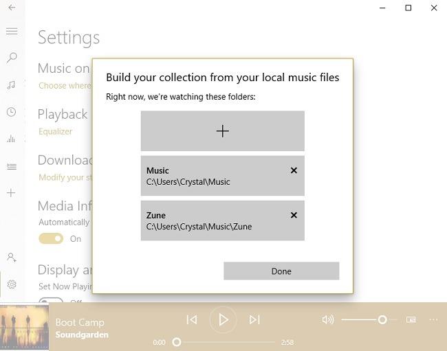 Was ist Groove Music und wie wird es verwendet? Neue Ordner Fold