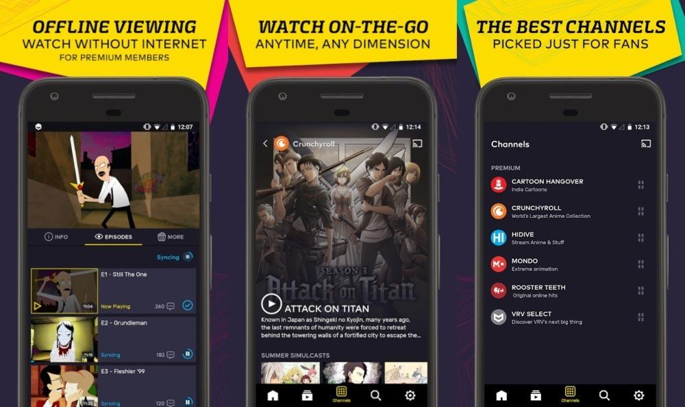 Vrv Anime Streaming App