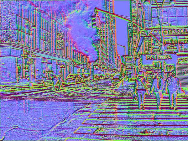 Texturkarte für die umgekehrte Bildsuche