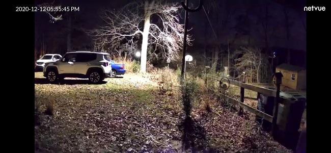 Netvue Vigil Pro Outdoor-Überwachungskamera Review Night