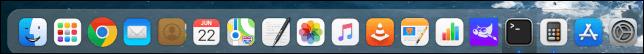 Twister OS iTwister Sur Theme Anwendungsdock