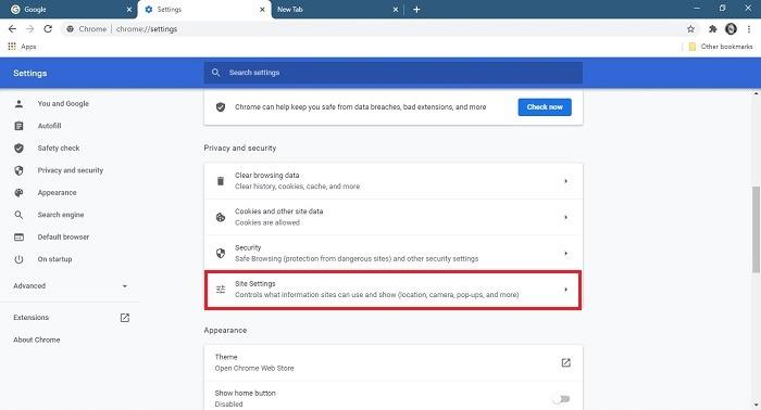 So stoppen Sie die Desktop-Site-Einstellungen für Chrome-Benachrichtigungen