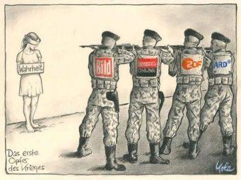medienmanipulation, wahrheit, krieg, opfer, spiegel