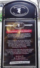 Glyphosat Bäckerei