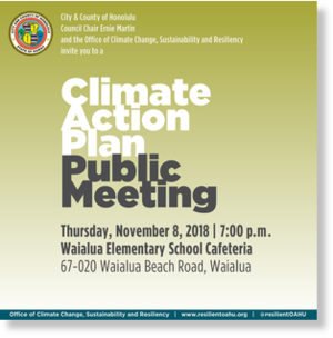 Honolulu climate action plan