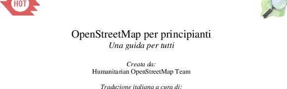 ed ora LearnOSM parla italiano