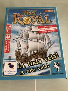 Port Royal a toda vela Mas que oca