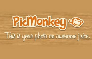 ik bewerk mijn afbeeldingen met PicMonkey