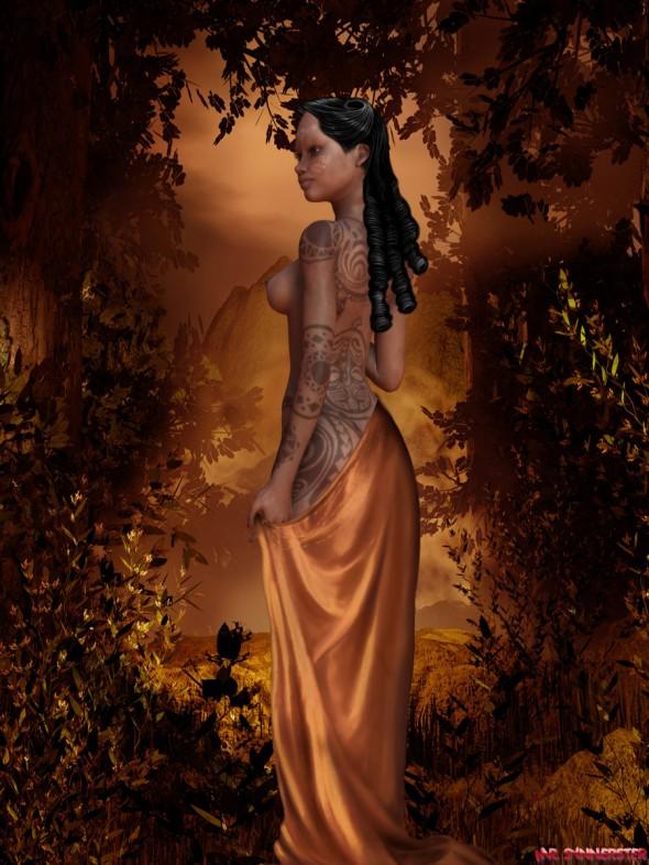 Painted Princess