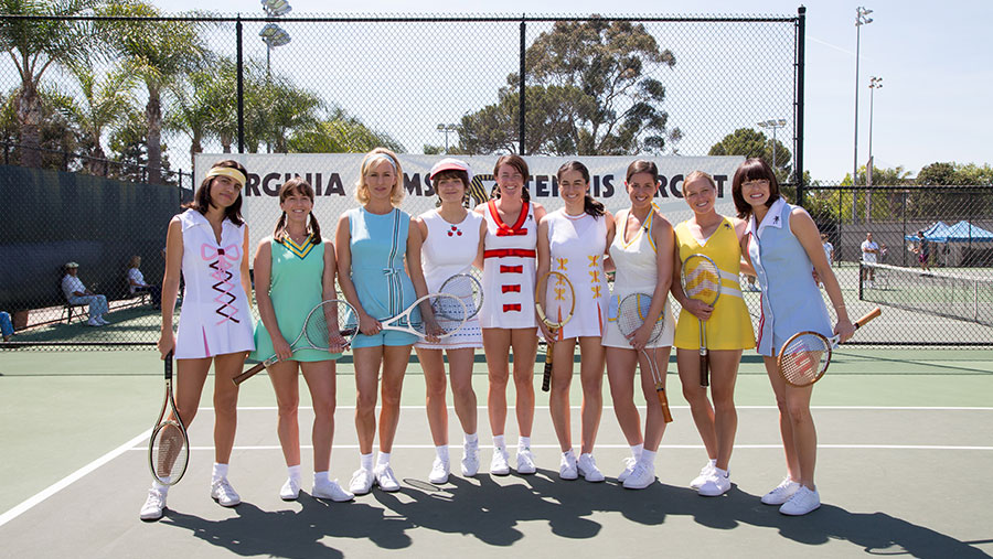 Battle of the Sexes grijpt chauvinisme bij de (tennis)ballen