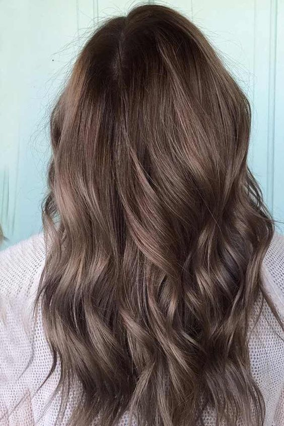Colour Hair Light Brown