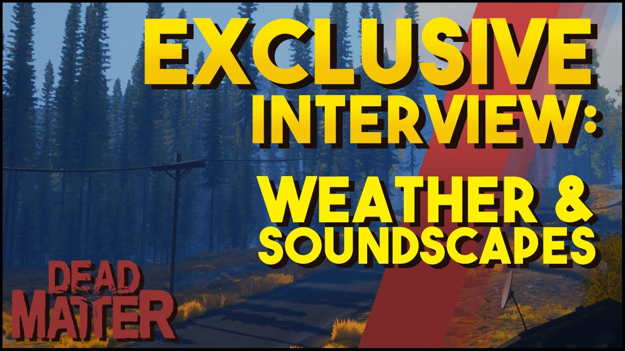 Exclusive Dead Matter Interview - Weather and Soundscapes