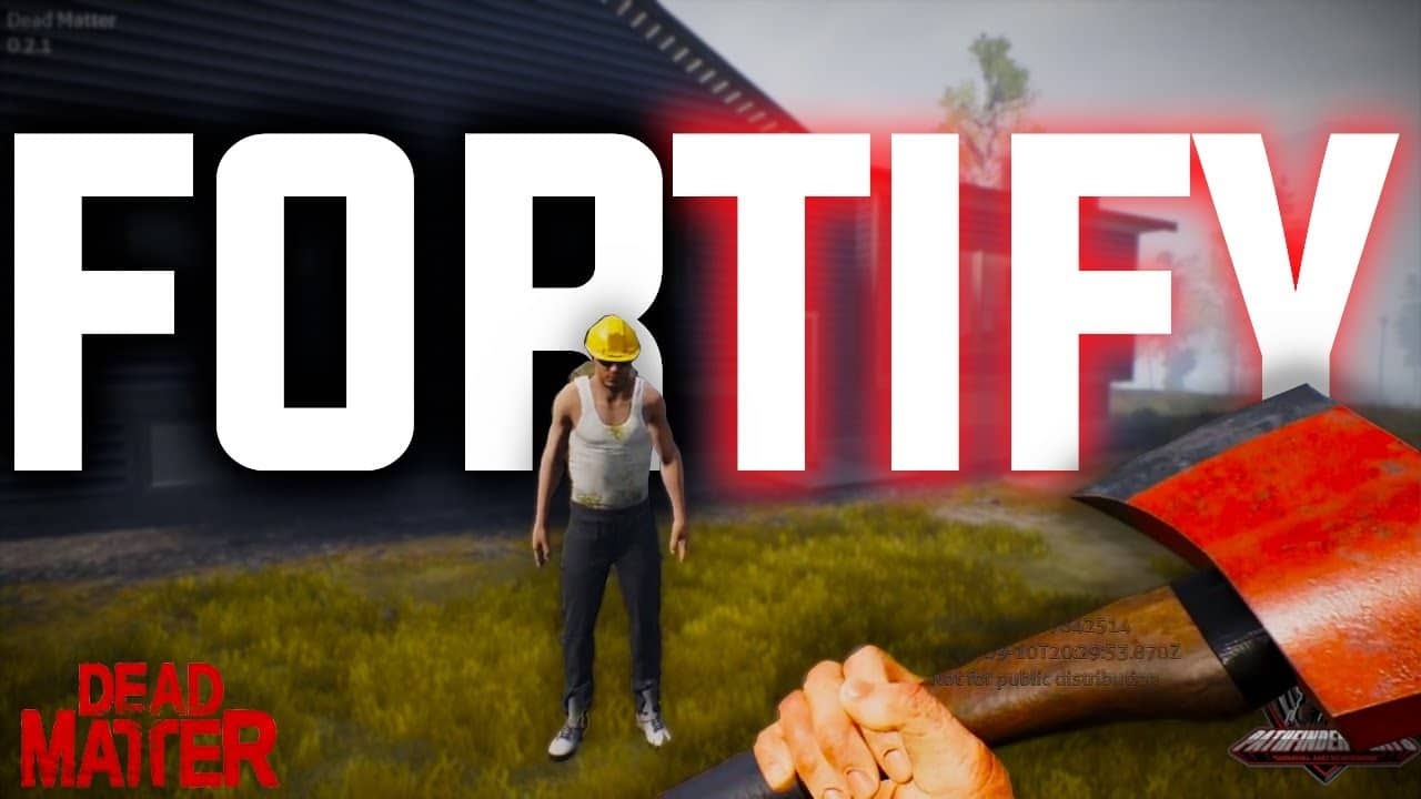 Dead Matter Closed Alpha - FORTIFY your claimed base!