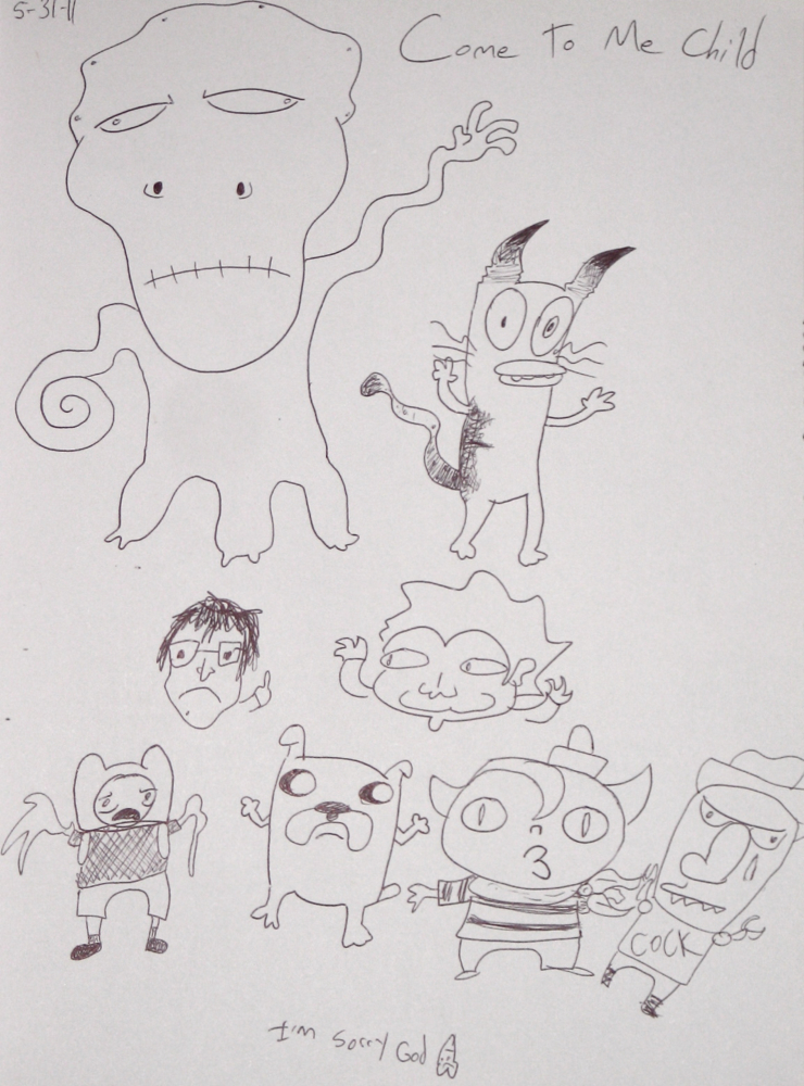 Day Names Dead Drawings