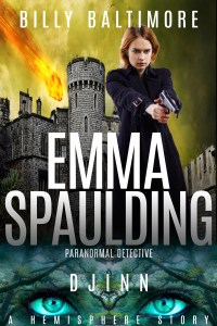 Book Cover for Emma Spaulding Paranormal Detective Djinn