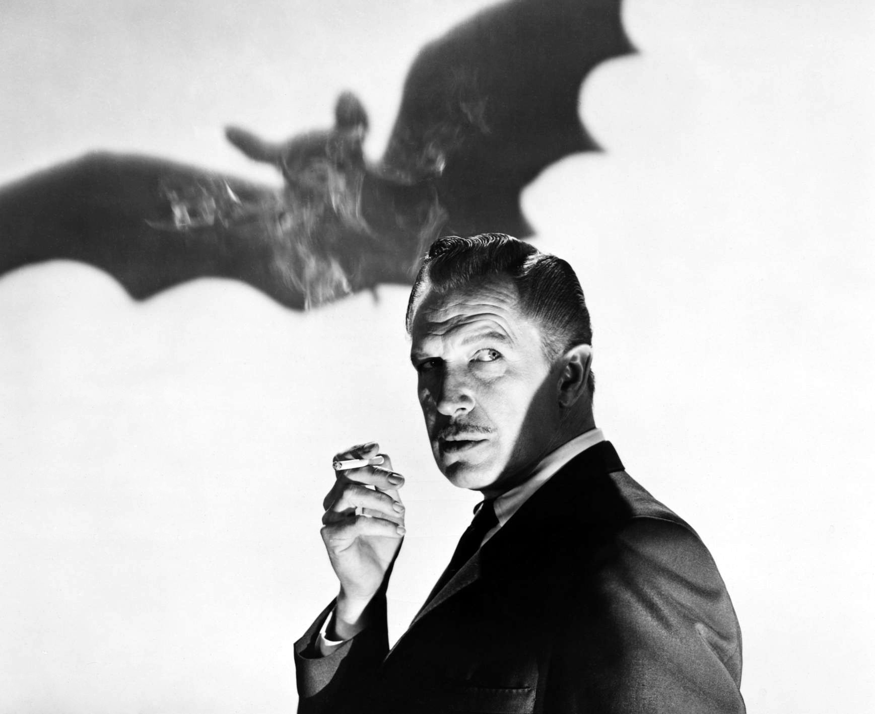 VINCENT PRICE : RAISING THE TEMPEST … HAPPY HALLOWEEN