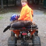 Beaver trapping on the wheelers