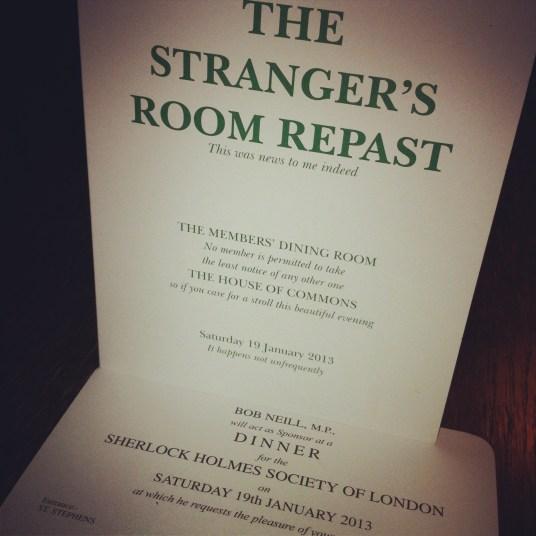 Stranger's Room Repast