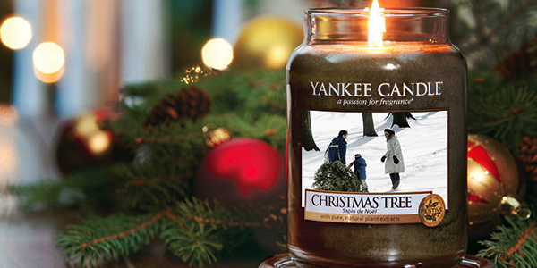 Yankee Candle: christmas tree - image from yankee.co.uk