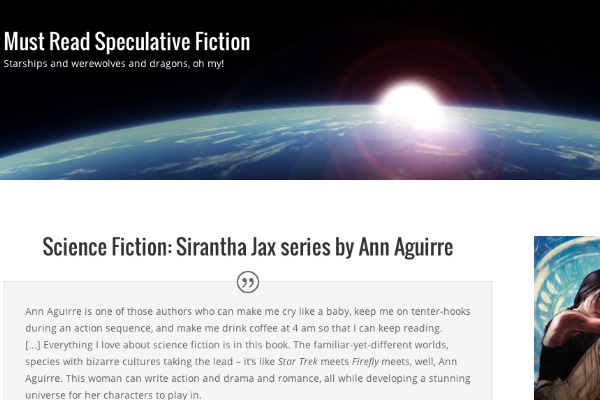 Speculative Fiction Must Reads