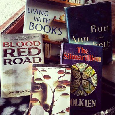 library sale book haul