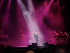 Michael Buble at the Rod Laver Arena