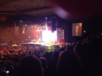 Dolly Parton at Rod Laver Arena 2011