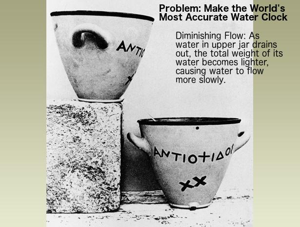 Water Clock problem