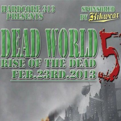 dead world 5 flyer front
