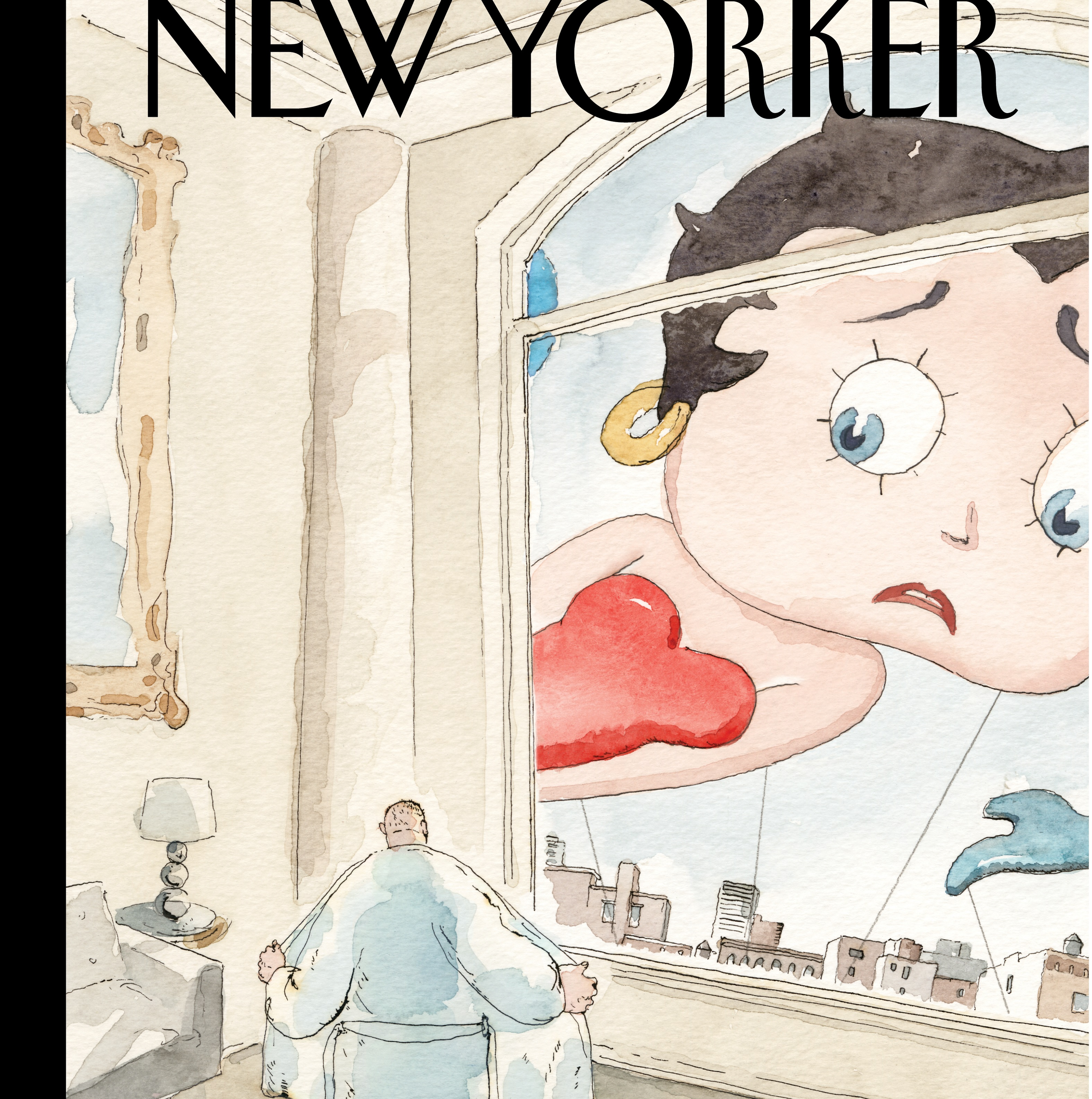 new yorker cover hits harassment theme