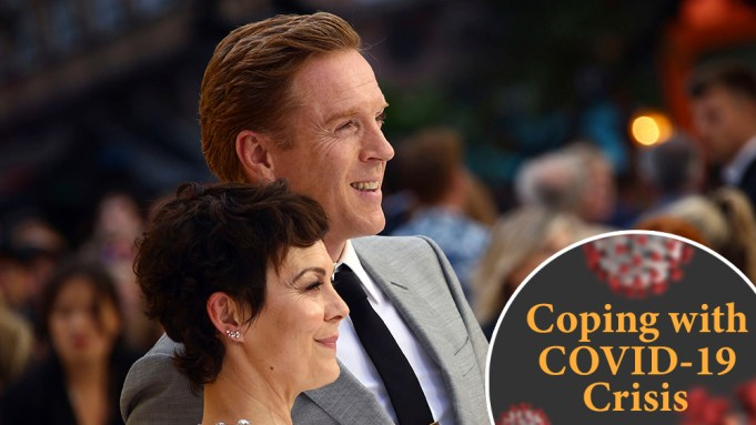 Damian Lewis Helen McCrory Coping with COVID 19 Crisis