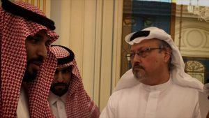Jamal Khashoggi in 'The Dissident'