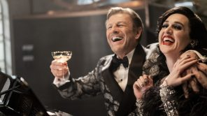 Sean Bean and Lena Hall in 'Snowpiercer'