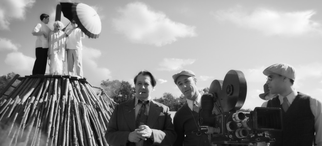 Amanda Seyfried, Gary Oldman, and Jamie McShane in 'Mank'