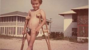 Bill Shannon in 'Crutch'